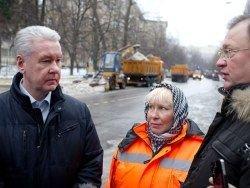 Собянин насмешил Рунет беседой со славянскими дворникам