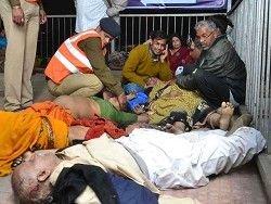 Число жертв давки в Индии достигло 36 человек