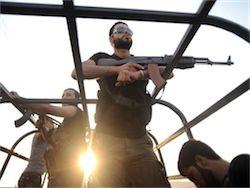 Сирийские повстанцы захватили крупнейшую ГЭС страны