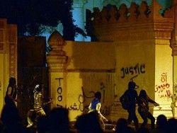 Годовщину свержения Мубарака отметили беспорядками
