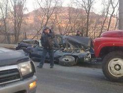В крупном ДТП на Калужском шоссе пострадали два человека