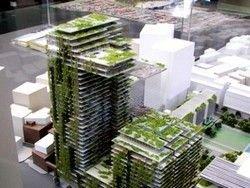 В Сиднее создают кронштейные гелиостаты на жилых домах