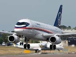 Superjet увеличенной дальности совершил первый полет