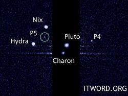Интернет-пользователи придумают название двум спутникам Плутона