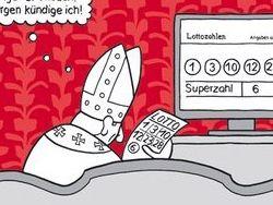 В немецком календаре нашли объяснение отставки папы