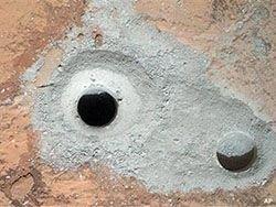 Новость на Newsland: Марс: Curiosity успешно произвёл сбор серого порошка