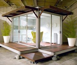 Офис в саду от калифорнийской компании KitHaus (фото)