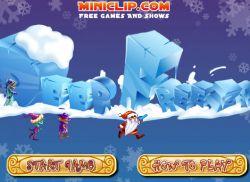 Новогодняя игра: Замораживаем врагов Деда Мороза