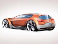 Dodge приготовил к автосалону в Детройте гибридный спорткар Zeo