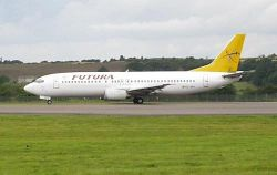 При взлете у индонезийского Боинга 737-400 отвалился кусок крыла