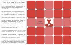 Доктор Джей Паркинсон из США консультирует больных в чате