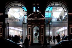 Самый крупный магазин Apple - Store London на Реджент-стрит - похож на театр (фото)
