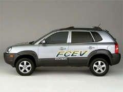 Hyundai планирует в 2010 году начать производство водородных кроссоверов Tucson FCEV
