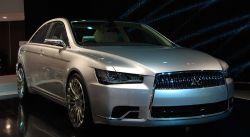 Mitsubishi покажет концепт седана Concept-ZT