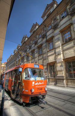 Проезд в пражском трамвае можно оплатить смской
