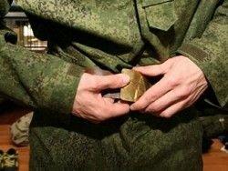 Новость на Newsland: Солдат избавляют от ношения ремня со звездой на бляхе