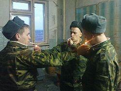 Новость на Newsland: Сигареты исключены из солдатского пайка