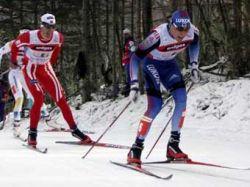 Российские лыжники завоевали бронзу в эстафете на этапе Кубка мира