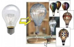 Вторая жизнь обычной лампочки (фото)