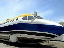 Автомобиль-самолет ушел с аукциона eBay за большие деньги