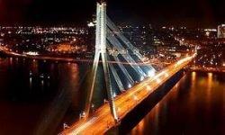 Через Москву-реку перекинут новый автомобильный мост