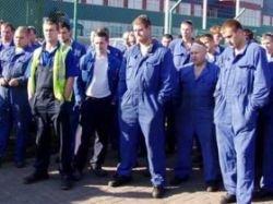 """Работники \""""Форда\"""" во Всеволжске возобновили пикет, приостановленный на выходные дни"""