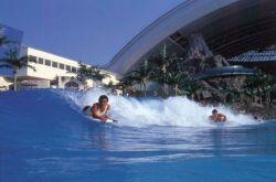 Ocean Dome - океан под куполом в Японии (видео)