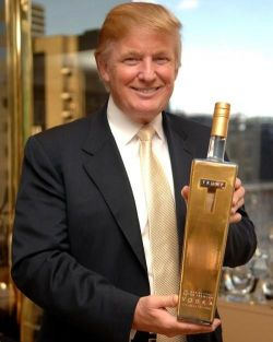 Картинки по запросу водки «Трамп»