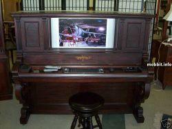 Компьютер в пианино – мега-моддинг (видео)