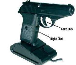 Отстреливайтесь: новая USB-мышки в виде пистолета