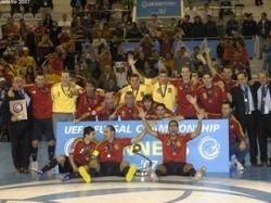 Сборная Испании выиграла чемпионат Европы по футзалу