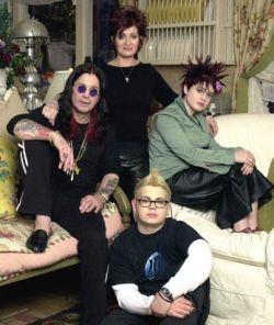 Самые неординарные семьи Голливуда: от Сопрано до Осборнов (фото)
