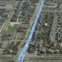 Голландцы превратили центральную улицу в водный канал (фото)