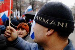 В Москве прошел митинг гастарбайтеров в поддержку Путина (фото)