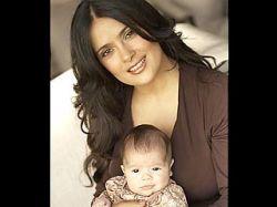 Сальма Хайек опубликовала фото своей маленькой дочери