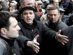 Арестованный Гарри Каспаров исчез, утверждают его соратники