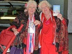 Старейшие проститутки Амстердама ушли на пенсию