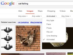 Новость на Newsland: Google добавил возможность поиска gif-анимации