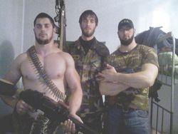 Кадыровские охранники