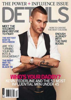 Кевин Федерлайн стал самым влиятельным мужчиной по версии журнала Details
