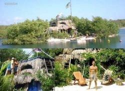 Плавучий остров, созданный человеком (фото)