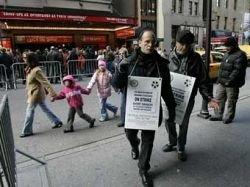 Бродвейские рабочие сцены прекратили забастовку