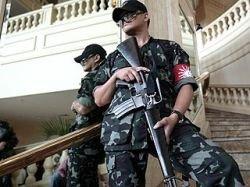 Вооруженные люди захватили фешенебельный отель в центре Манилы