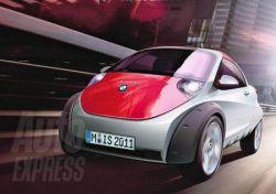 Возвращение микроавтомобиля BMW Isetta (фото)