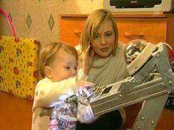В Иваново самодельный робот стал членом семьи и нянькой для ребенка