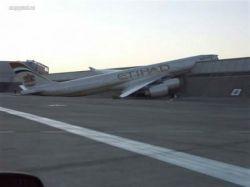 Авиакатастрофа самолета Airbus A340-600 в аэропорту французского города Тулуза (фото)