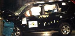Nissan X-Trail на краш-тестах получил невысокие оценки