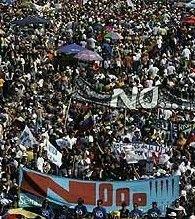 Венесуэла: тысячи протестуют против реформ Уго Чавеса