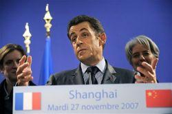 "Сегодня французы объявили \""день без Саркози\"""