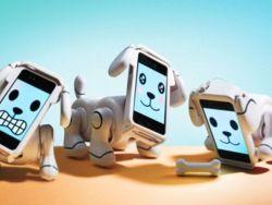Представлена кибернетическая собака на базе iPhone